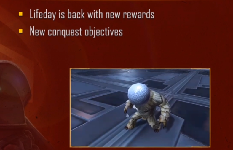 New Life Day Rewards