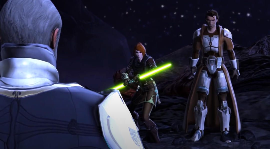 SWTOR: Kira, Jedi Knight and The Emperor